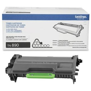 TN890 Toner Cartridge - Brother Genuine OEM (Black)