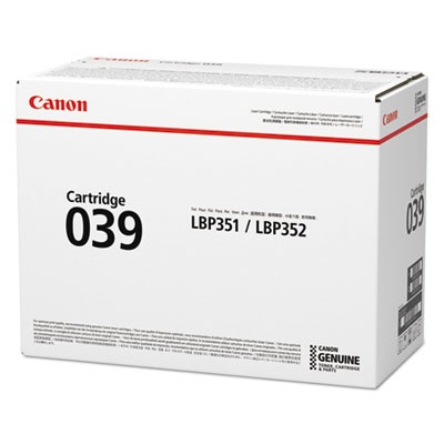 0287C001AA Toner Cartridge - Canon Genuine OEM (Black)