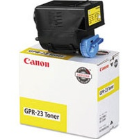 GPR-23 Yellow Toner Cartridge - Canon Genuine OEM (Yellow)