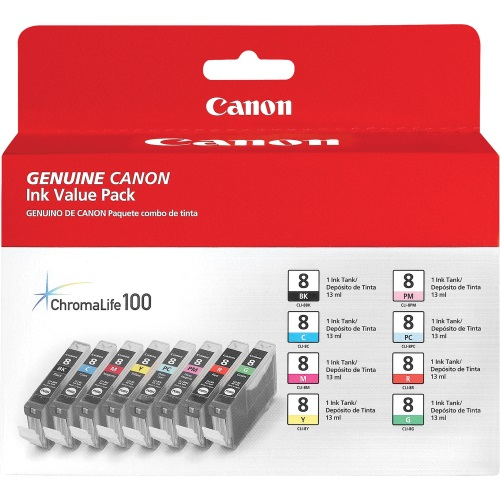 0620B015 Ink Cartridge - Canon Genuine OEM (Bundle Pack)