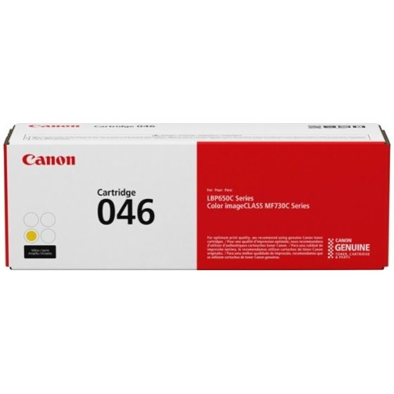 1247C001 Toner Cartridge - Canon Genuine OEM (Yellow)