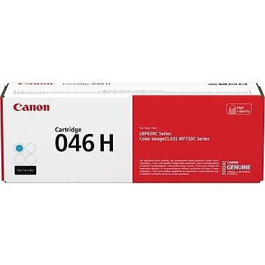 1253C001 Toner Cartridge - Canon Genuine OEM (Cyan)