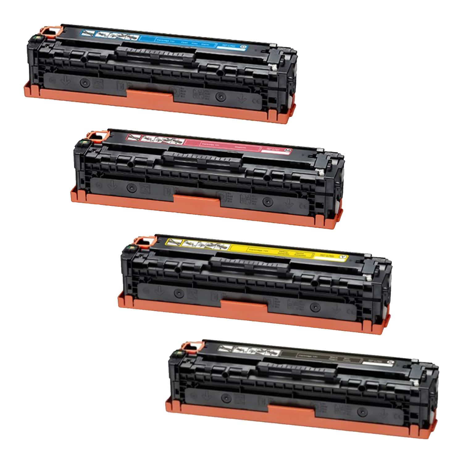 Compatible Canon 131H Toner High Capacity Pack - 4 Cartridges