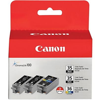 1509B007 Ink Cartridge - Canon Genuine OEM (Bundle Pack)