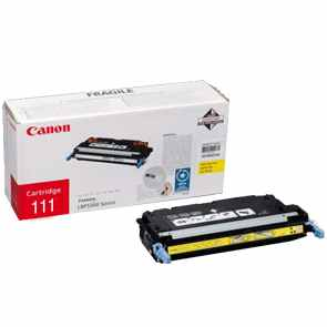 Genuine Canon 1657B001AA Yellow Toner Cartridge
