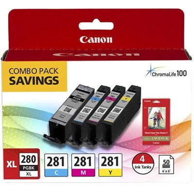 2021C006 Ink Cartridge - Canon Genuine OEM (Bundle Pack)