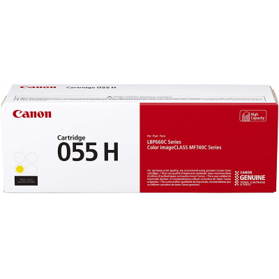 3017C001 Toner Cartridge - Canon Genuine OEM (Yellow)