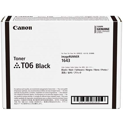 3526C001 Toner Cartridge - Canon Genuine OEM (Black)