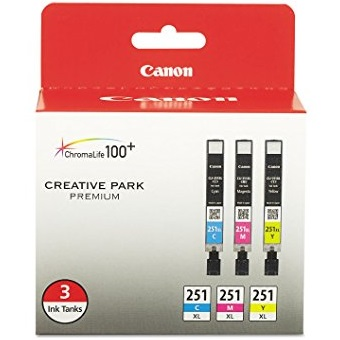 6449B009 Ink Cartridge - Canon Genuine OEM (Bundle Pack)