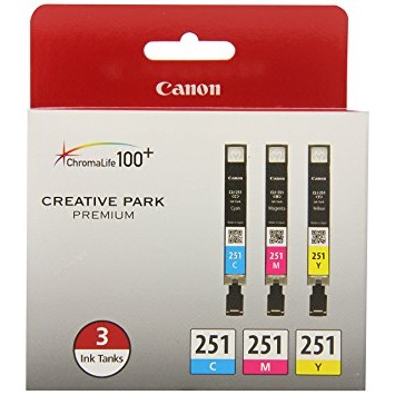 6514B009 Ink Cartridge - Canon Genuine OEM (Bundle Pack)