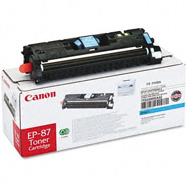 Genuine Canon 7432A005AA Cyan Toner Cartridge