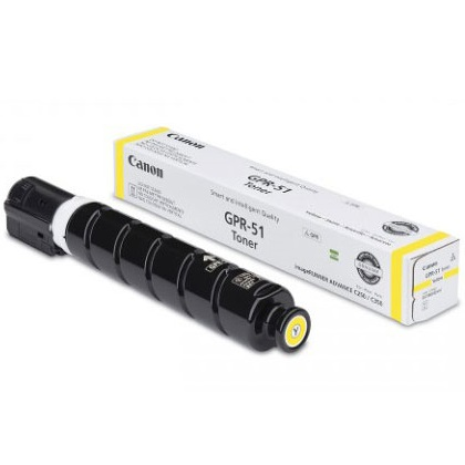 GPR-51 Yellow Toner Cartridge - Canon Genuine OEM (Yellow)