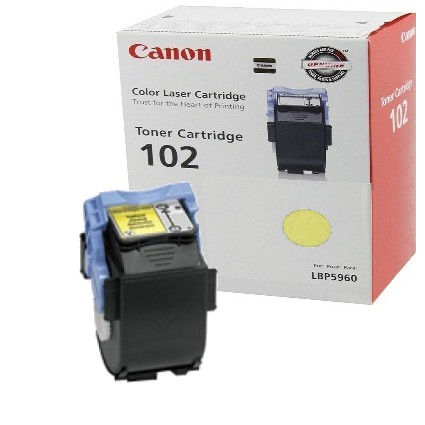 Genuine Canon 9642A006AA Yellow Toner Cartridge