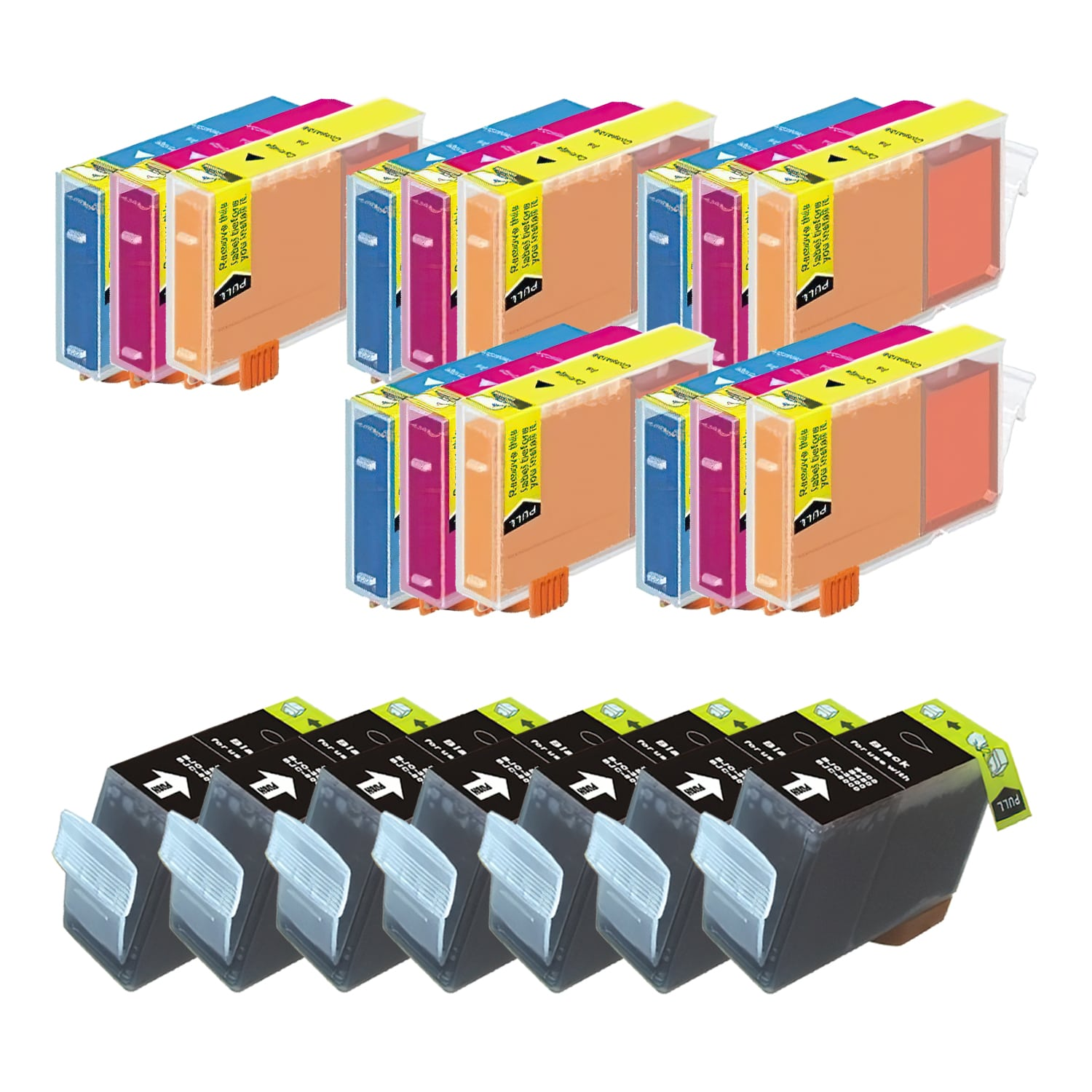Compatible Canon BCI-3 Inkjet Pack - 22 Cartridges