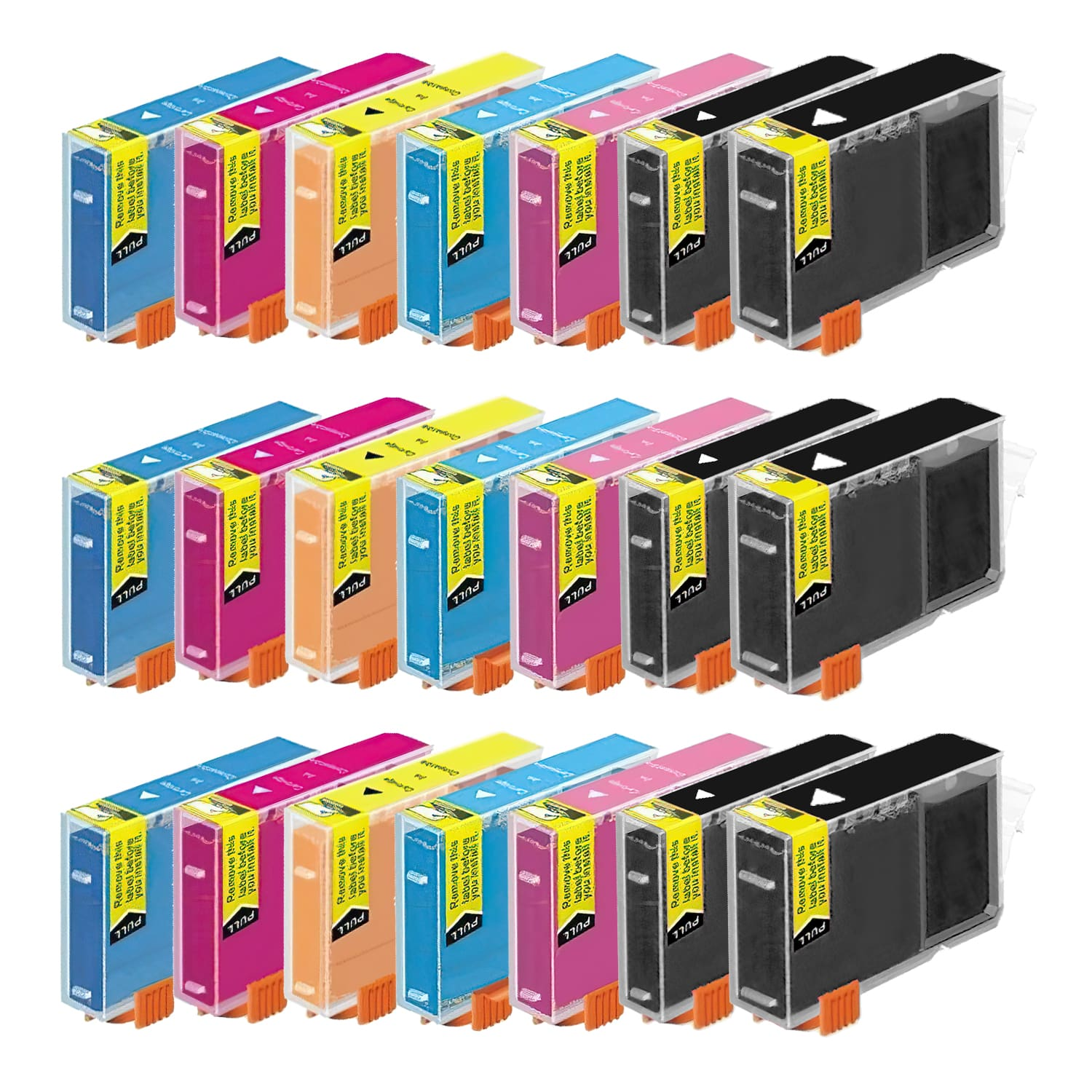 Compatible Canon BCI-3 Inkjet Pack - 21 Cartridges