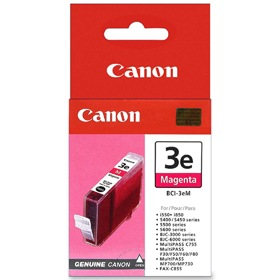 BCI-3eM Ink Cartridge - Canon Genuine OEM (Magenta)