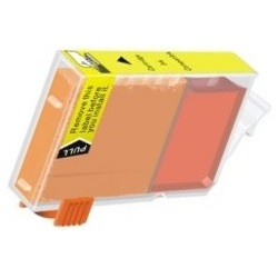 BCI-3eY Ink Cartridge - Canon Compatible (Yellow)