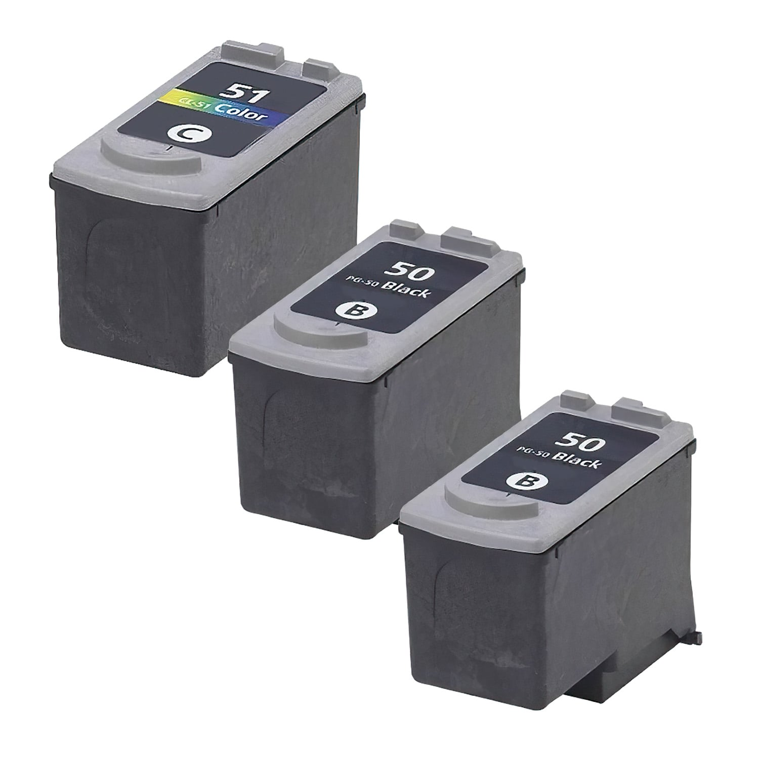 Remanufactured Canon CL-51-PG-50 Inkjet High Capacity Pack - 3 Cartridges