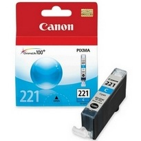 CLI-221C Ink Cartridge - Canon Genuine OEM (Cyan)