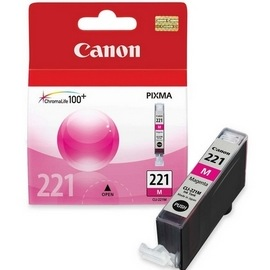 CLI-221M Ink Cartridge - Canon Genuine OEM (Magenta)