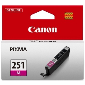 CLI-251M Ink Cartridge - Canon Genuine OEM (Magenta)