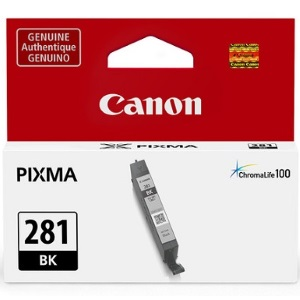CLI-281BK Ink Cartridge - Canon Genuine OEM (Black)