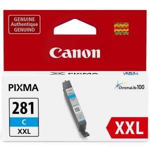 CLI-281XXL C Ink Cartridge - Canon Genuine OEM (Cyan)