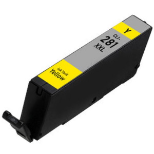 CLI-281XXL Y Ink Cartridge - Canon Compatible (Yellow)