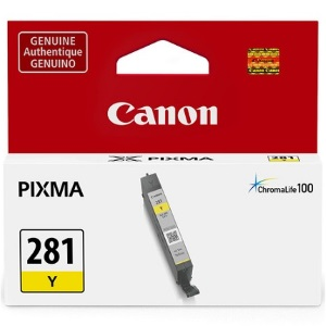 CLI-281Y Ink Cartridge - Canon Genuine OEM (Yellow)