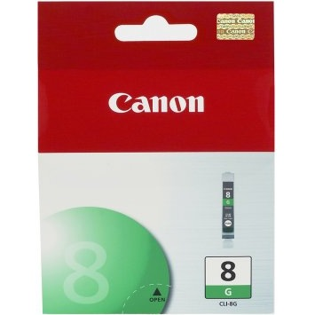 CLI-8G Ink Cartridge - Canon Genuine OEM (Green)