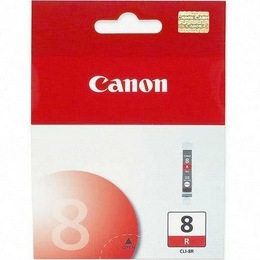 CLI-8R Ink Cartridge - Canon Genuine OEM (Red)
