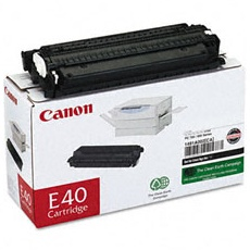 E40 Toner Cartridge - Canon Genuine OEM (Black)