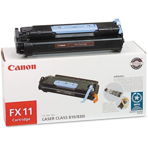 Genuine Canon FX-11 Black Toner Cartridge
