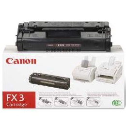 FX-3 Toner Cartridge - Canon Genuine OEM (Black)