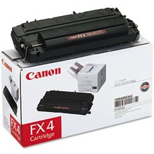 Genuine Canon FX-4 Black Toner Cartridge