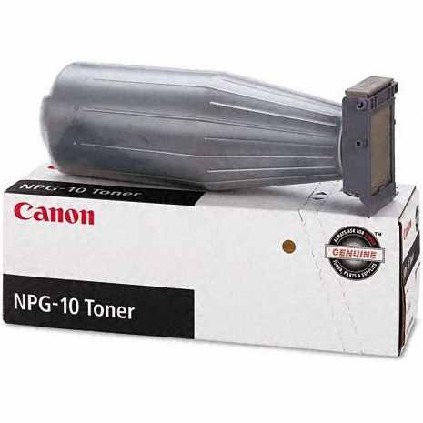 NPG-10 Toner Cartridge - Canon Genuine OEM (Black)