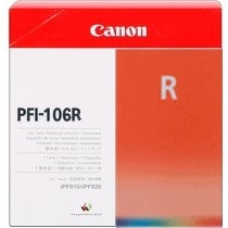 PFI-106R Ink Cartridge - Canon Genuine OEM (Red)