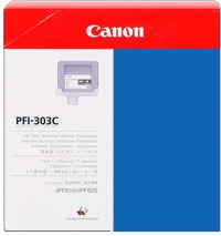 Genuine Canon PFI-303C Cyan Ink Cartridge