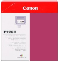 Genuine Canon PFI-303M Magenta Ink Cartridge