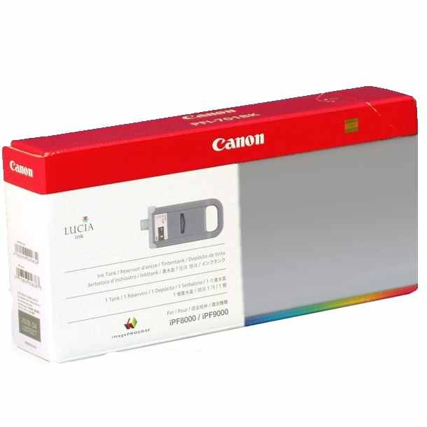 PFI-701PGY Ink Cartridge - Canon Genuine OEM (Photo Gray)