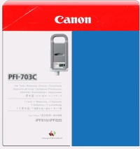 PFI-703C Ink Cartridge - Canon Genuine OEM (Cyan)