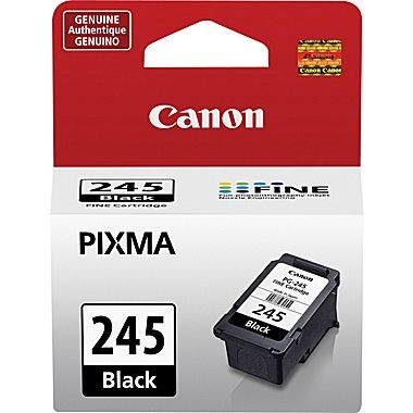 PG-245 Ink Cartridge - Canon Genuine OEM (Black)