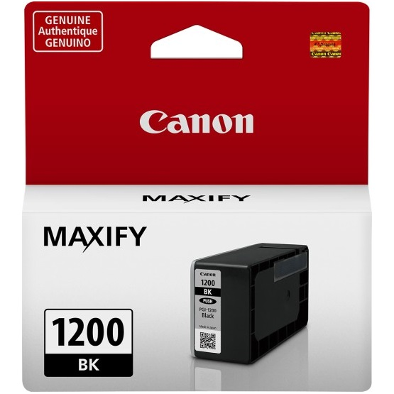 PGI-1200BK Ink Cartridge - Canon Genuine OEM (Black)