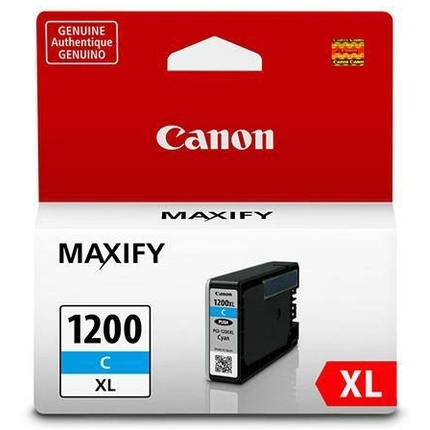 PGI-1200C XL Ink Cartridge - Canon Genuine OEM (Cyan)