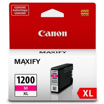 PGI-1200M XL Ink Cartridge - Canon Genuine OEM (Magenta)