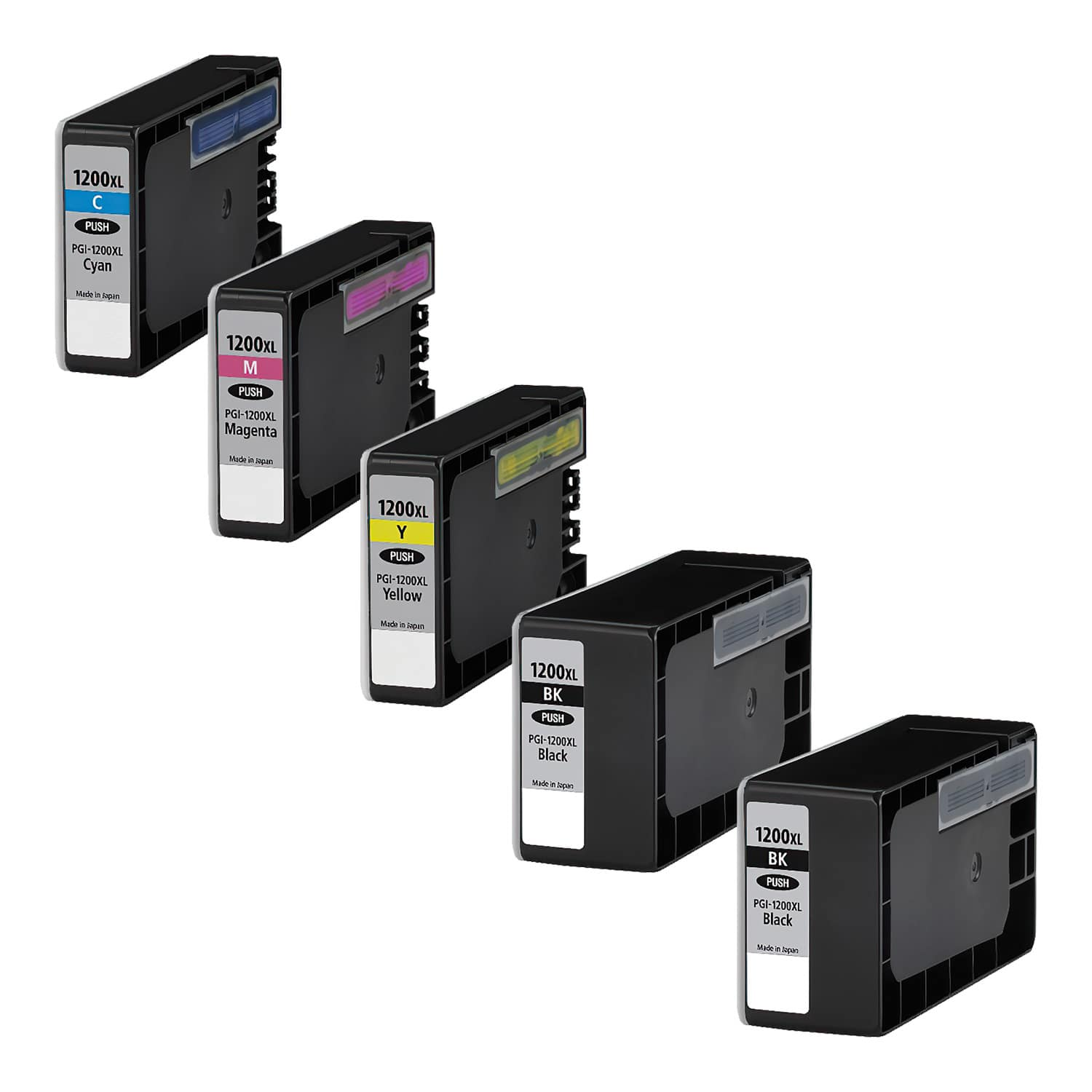 Compatible Canon PGI-1200XL Inkjet High Capacity Pack - 5 Cartridges