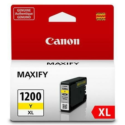 PGI-1200Y XL Ink Cartridge - Canon Genuine OEM (Yellow)
