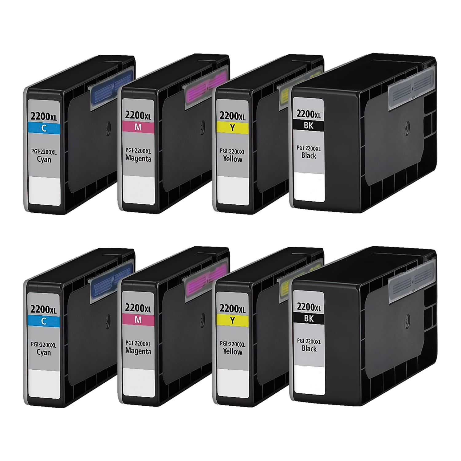 Compatible Canon PGI-2200 Inkjet High Capacity Pack - 8 Cartridges