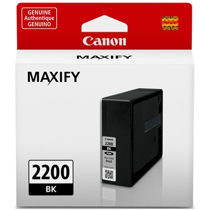 PGI-2200BK Ink Cartridge - Canon Genuine OEM (Black)