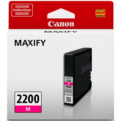 PGI-2200M Ink Cartridge - Canon Genuine OEM (Magenta)